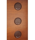 Cable grommet, brow cable grommet, brown hole cover