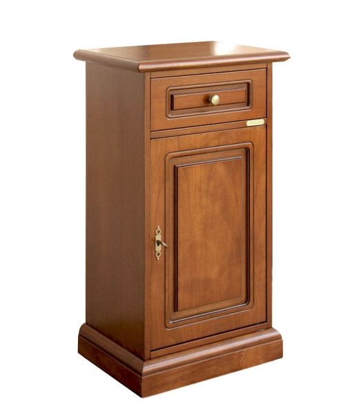 Entryway small cabinet in wood. Sku 10-L