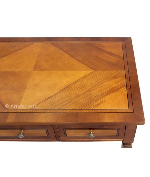 3 drawer wooden desk, office desk, study room desk table, inlaid desk, writing desk, classic desk, classic furniture, office furniture, wooden desk, wooden furniture,