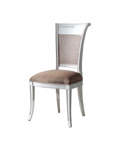 dining chair with cane backrest, wooden backrest, solid wood chair, dining room chair, classic style chair,