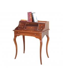 multifunctional desk in classic style, classic furniture, classic style, classic desk, writing desk, 6 drawer desk, wooden desk, solid wood desk, study room desk