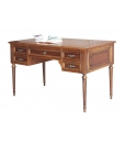 writing desk, Louis XVI style, classic desk, wooden desk, furniture for office, classic furniture, 5 drawer desk, desk in wood