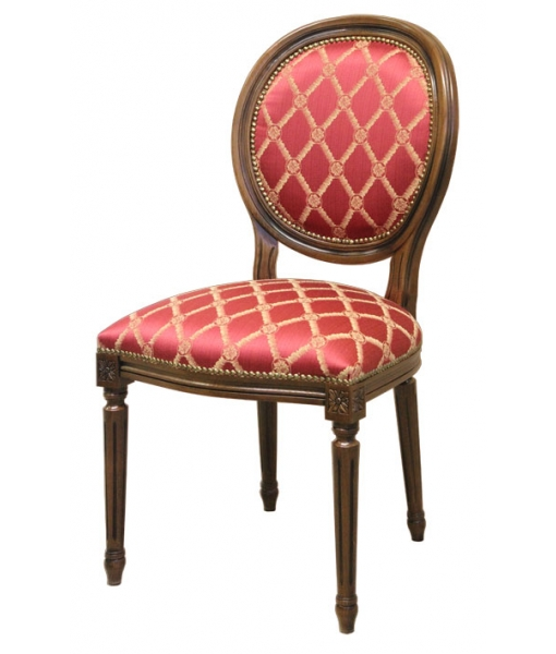 classic chair, chair, classic chair with turned legs, wooden chair, chair for living room, chair for kitchen, dining room chair