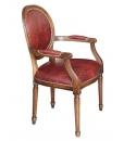 classic armchair, armchair, armchair with leather, armchair for living room, armchair for office, italian design, classic style