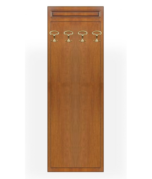 Hallway hat and coat rack in wood. Sku 14-L
