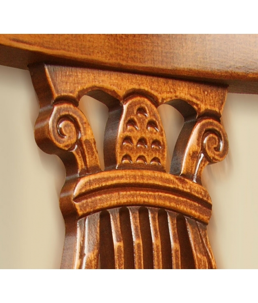 Lira chair, classic chair, wooden chair, carved chair, chair for kitchen