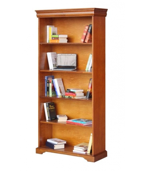 Wide open bookcase in Louis Philippe style. Sku. 198