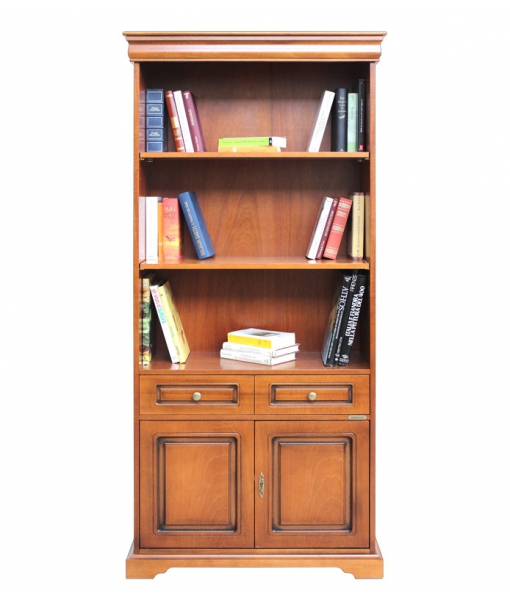 2-door bookcase with drawer. Product code: 199