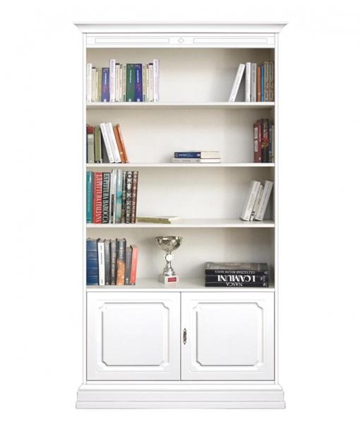 2-door bookcase with shelves. Product code: 201-AV