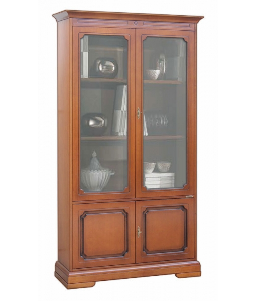 4 door display cabinet, office or living room furniture. Sku 204