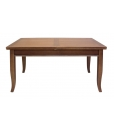 extendable dining table, living room table, dining table, wood table, rectangular table, inlaid top table, classic dining table, Arteferretto