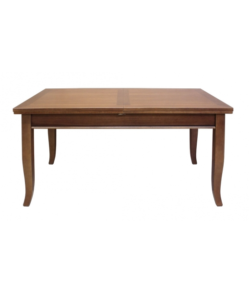 Extendable dining table in rectangular shape. Sku 2068