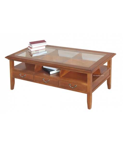 coffee table top glass, coffee table, wooden coffee table, living room furniture, classic coffee table