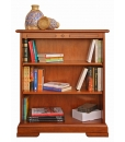 low wooden bookcase, classic bookcase, wooden bookcase, office bookcase, study room bookcase,