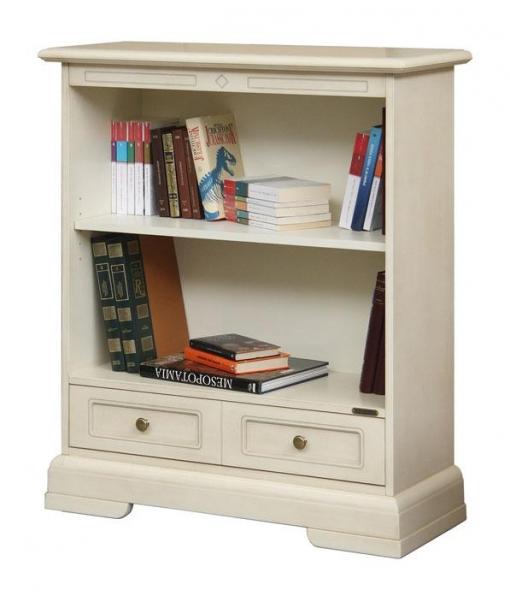 Low wooden bookcase for office or study room. Sku 221-AV