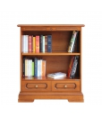 bookcase, low bookcase with shelves