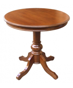 Roun wooden table, wooden table, coffee table, wooden coffee table, furniture for living room, living room furnishing
