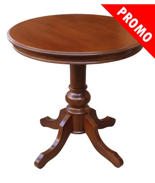 Round wooden table 80 cm. Product code: 269