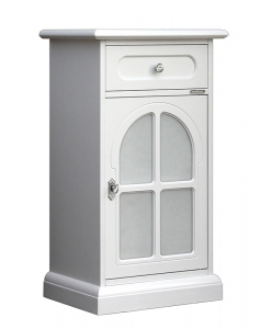 Small unit for entryway, hallway cabinet, small cabinet, wood cabinet, white cabinet, small unit