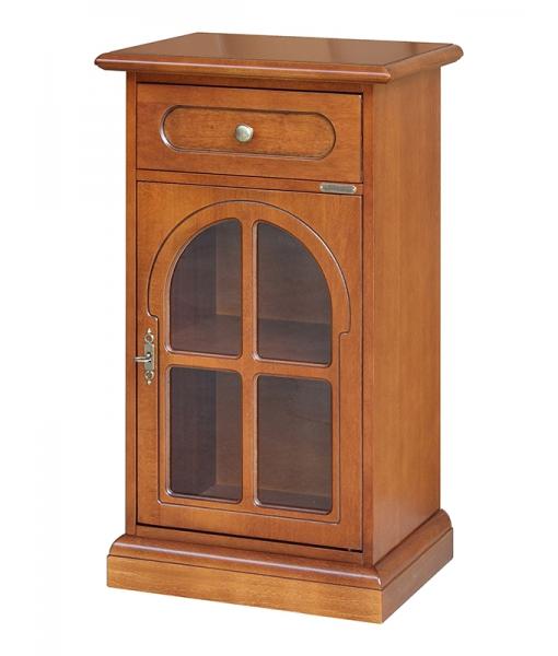 Classic side cabinet in wood. Sku 3003-b