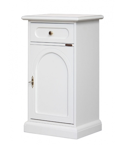 Lacquered side cabinet in wood. Sku 3006-bi