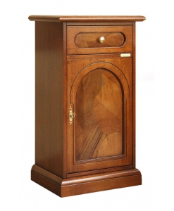 briar root side cabinet, wooden side cabinet, small cabinet in wood, briar root furniture, Arteferretto furniture, cabinet in classic style