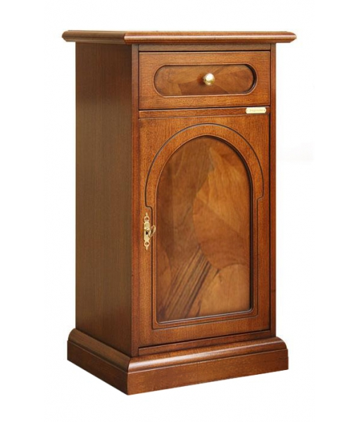 Briar root side cabinet in wood for entryway. Sku 3008-a