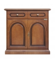 classic cherry wood sideboard, wooden sideboard, classic sideboard, 2 door sideboard, 2 door 1 drawer sideboard, classic furniture, sideboard in classic style, sideboard in cherry wood, sideboard,