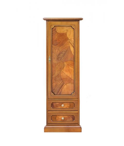 1 door storage cabinet in wood. Sku 3027-AS