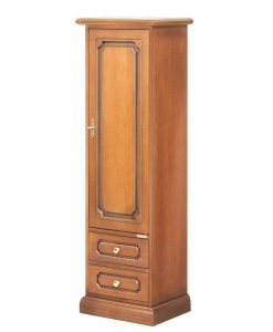 one door cabinet, small cabinet, wooden cabinet