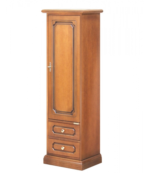 One door cabinet with 2 drawers. Product code: 3027-L