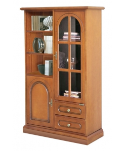 classic display cabinet, wooden cabinet, wooden display cabinet, display cabinet, living room furniture, display case,