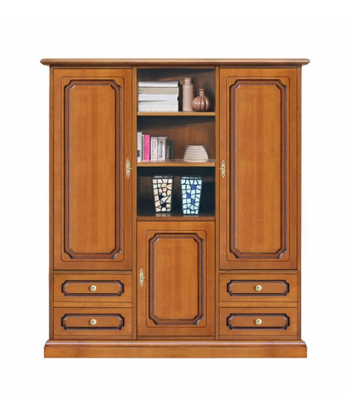 wooden cabinet, living room cabinet, classic cabinet,classic style cabinet, living room furniture, Sku. 3037-l