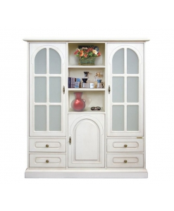 3-door display cabinet, display cabinet, furniture for living room, display cabinet for living room