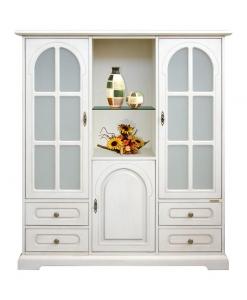 3-door display cabinet, display cabinet, furniture for living room, display cabinet for living room