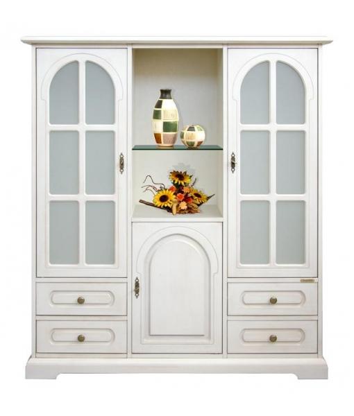3-door display cabinet. Product code: 3038-TG