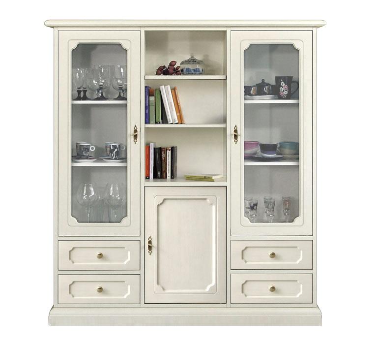 Classic Lacquered Display Cabinet Ferrettohome