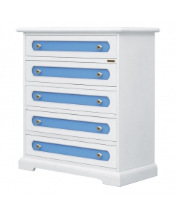 5-drawer chest, chest of drawers, furniture for kid's bedroom, colored furniture, wooden furniture, furniture for bedroom