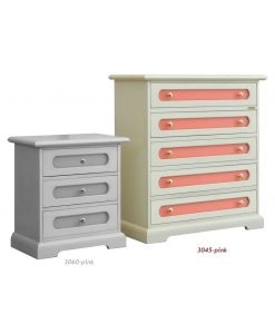 5-drawer chest, wooden chest of drawers, wooden furniture, furniture for bedroom, coloured furniture