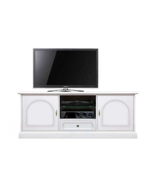 Low Tv entertainment unit in wood. Sku 3059-av