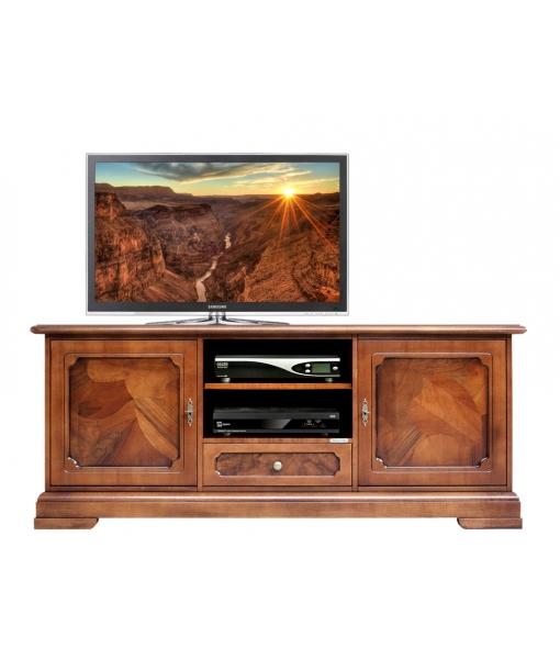 Brier wood Tv cabinet for living room. Sku 3059-AZ