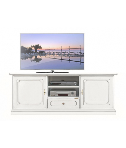 Classic lacquered Tv sideboard, living room cabinet. Sku 3059-sp