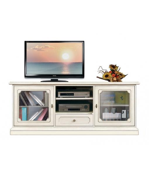 Living room entertainment cabinet in wood. Sku 3059-sv