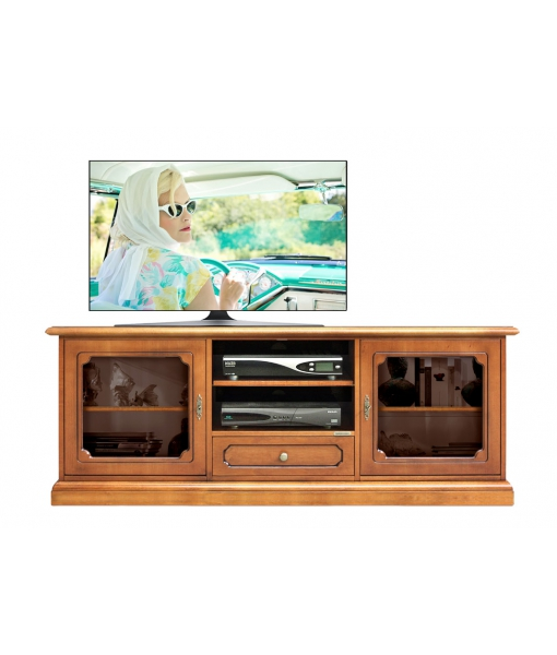 Living room entertainment cabinet in wood. Sku 3059-sv