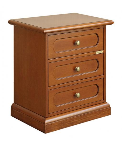 3 drawer bedside table for bedroom. sku 3060