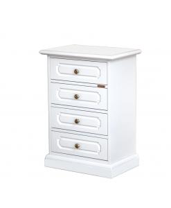 4 drawer bedside table, drawer table bedside