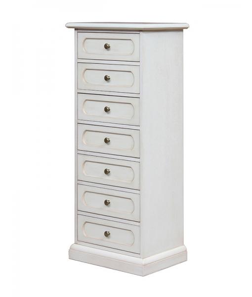 Lacquered chest of 7 drawers, Sku.: 3067-av