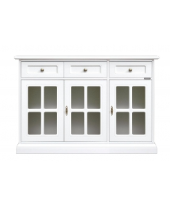 sideboard, sideboard with display cabinet, classic sideboard
