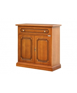 2 door dining cupboard, sideboard in wood, dining sideboard,