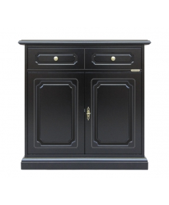 Lacquered sideboard 2 doors